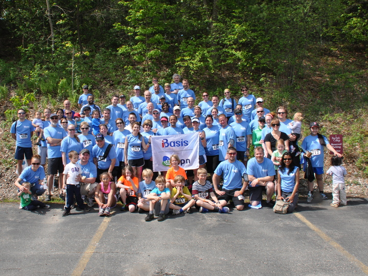 I Basis Sponsors 5 K In Memory Of Employee T-Shirt Photo