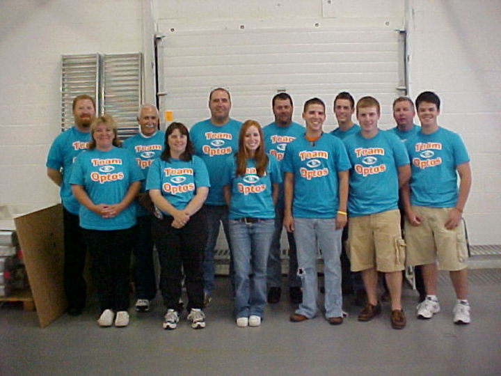 Our Team At April Industries T-Shirt Photo