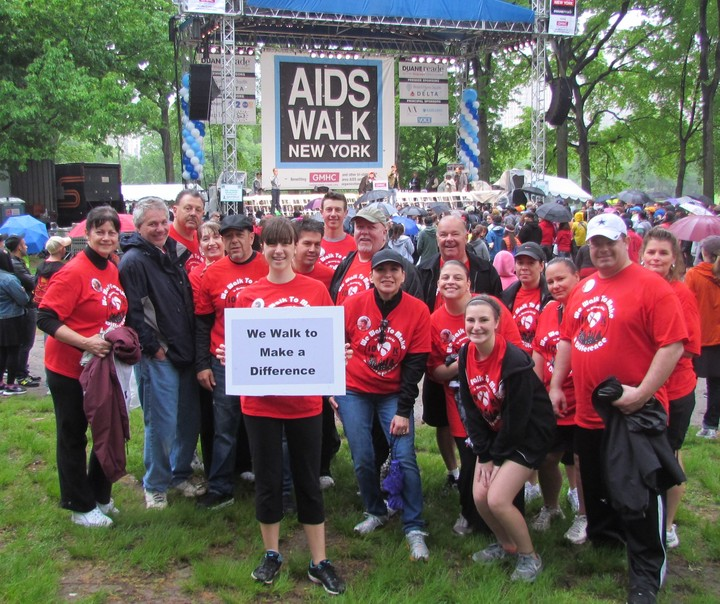 We Walk To Make A Difference! T-Shirt Photo