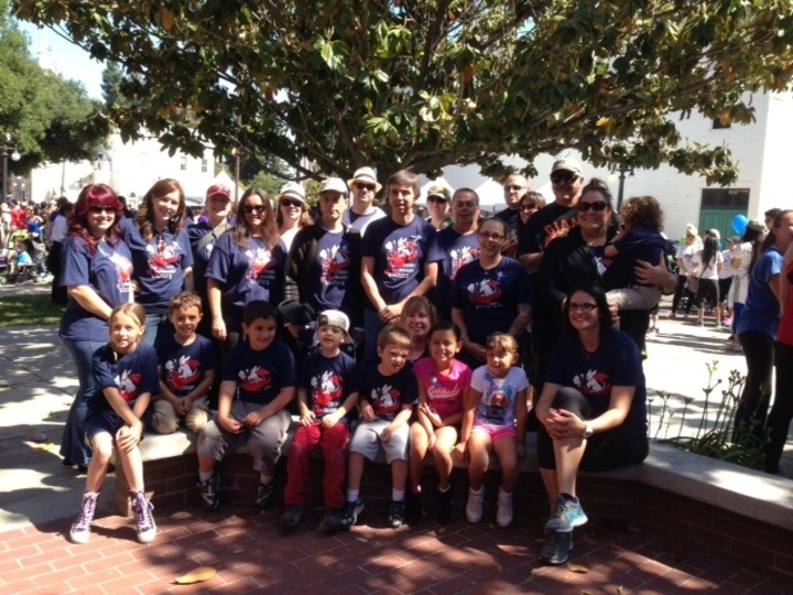 Conor's Crusaders At Bay Area Walk Now For Autism Speaks T-Shirt Photo