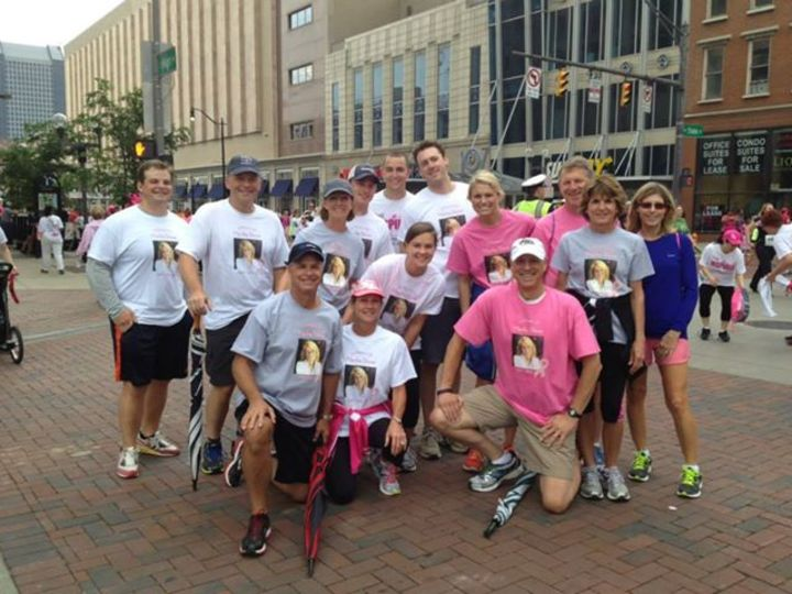The Columbus, Oh  Komen Race For The Cure T-Shirt Photo