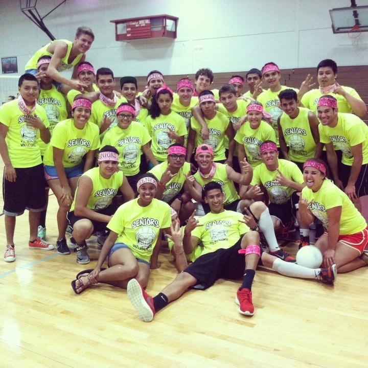 Seniors Vs. Juniors Volleyball Game! T-Shirt Photo