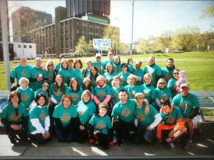 Linda's Team T-Shirt Photo