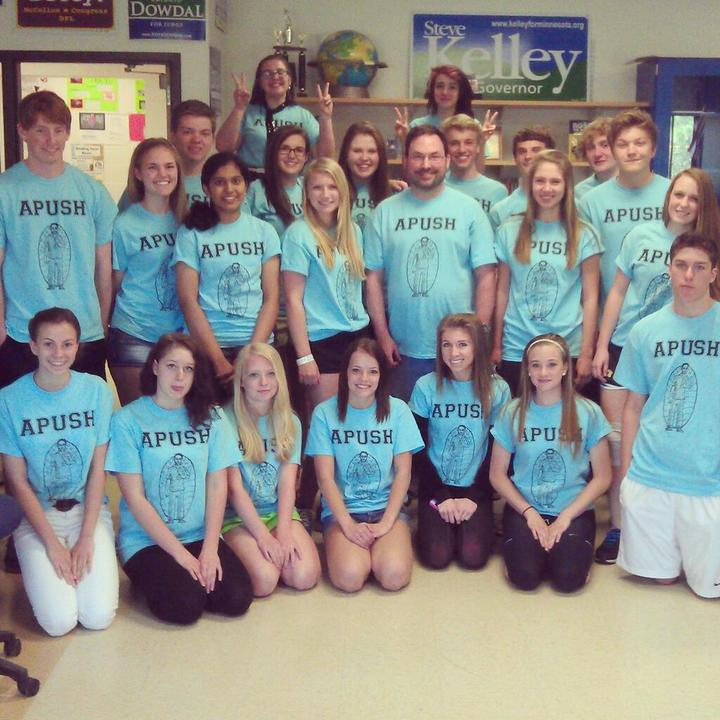 Apush 2012 2013 T-Shirt Photo