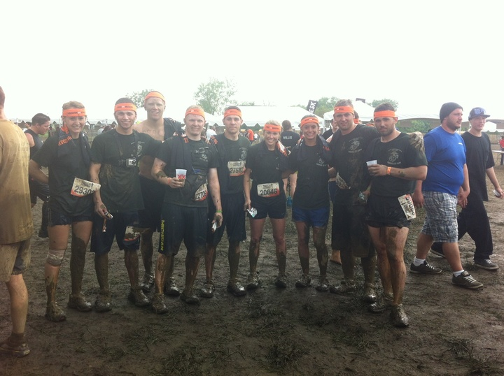 Tough Mudder Champs  T-Shirt Photo