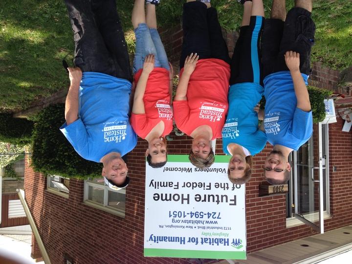 Family Volunteering T-Shirt Photo