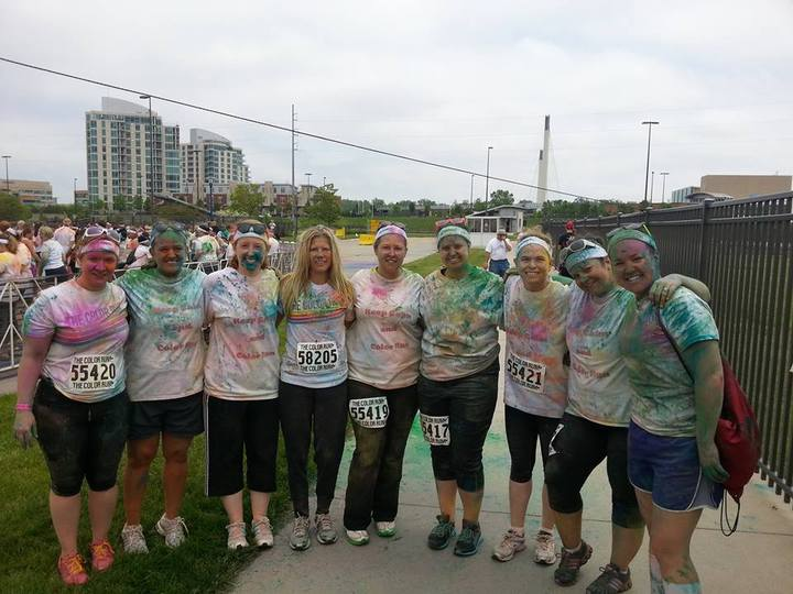 Color Run 2013 After T-Shirt Photo