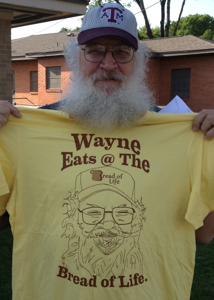The Man Who Inspired The Shirt T-Shirt Photo