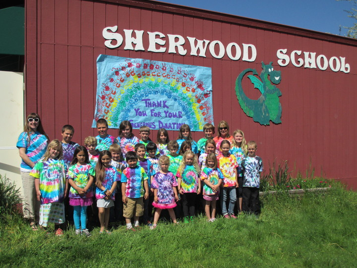 Sherwood Custom Ink T Shirt Tie Dye T-Shirt Photo
