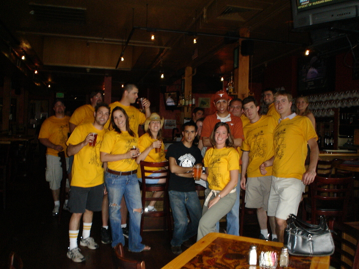 2nd Annual Santa Fe Pub Crawl T-Shirt Photo