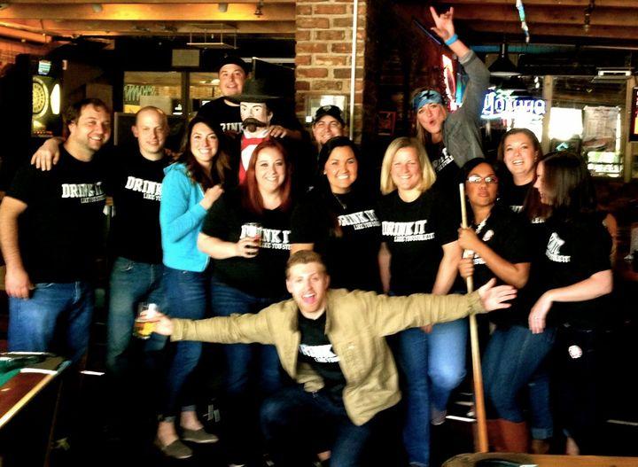 Kenmore Pub Crawl T-Shirt Photo