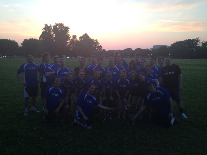 Wilson Center's 14 Points Softball Team T-Shirt Photo