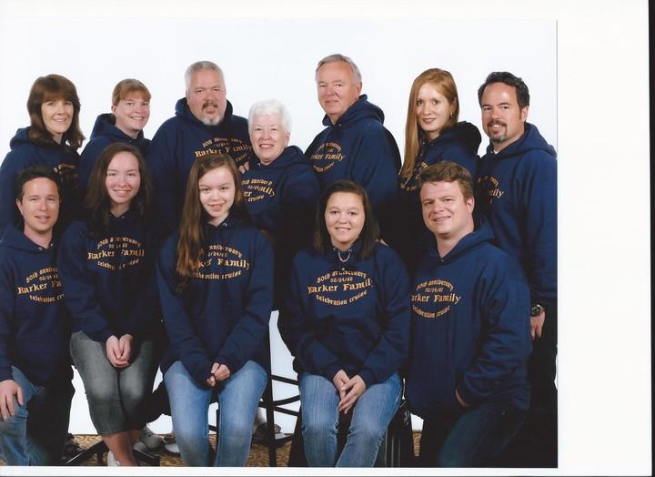 Barker Family Celebration Cruise Photo T-Shirt Photo