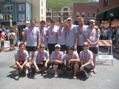 Mechanical Hounds At Wasatch Back Relay   June 2007 T-Shirt Photo