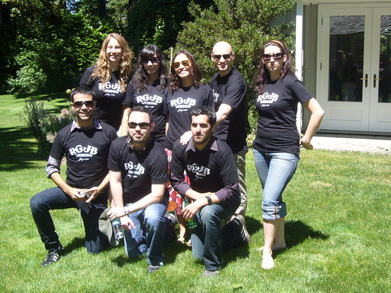 Rg Jb Wedding Party 7/7/07 T-Shirt Photo