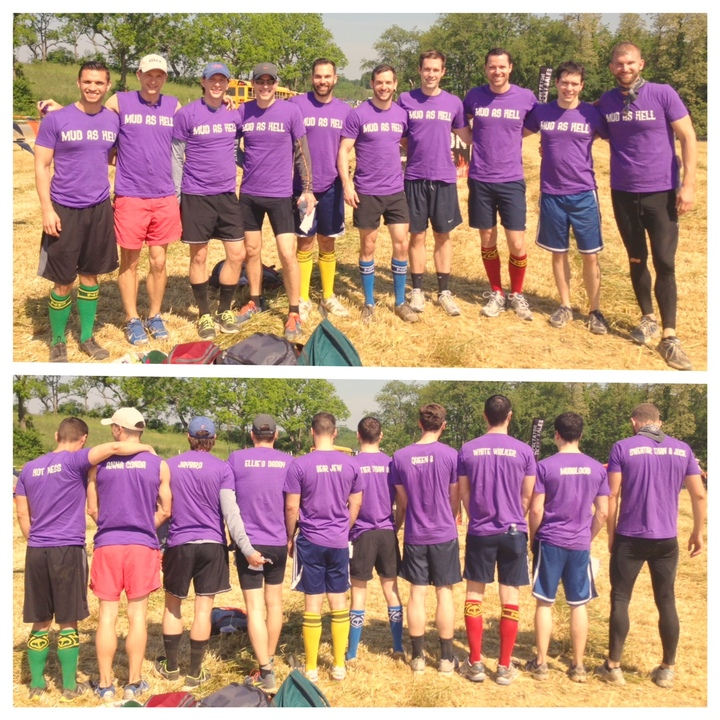 Team Mud As Hell: Tough Mudder Philadelphia 2013 T-Shirt Photo