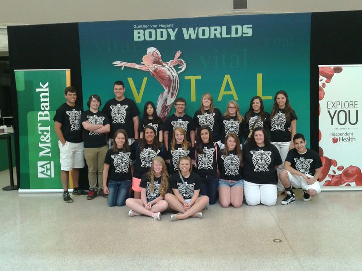 A & P At Body Worlds! T-Shirt Photo