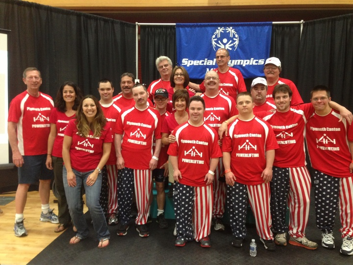 Special Olympics Power Lifters T-Shirt Photo