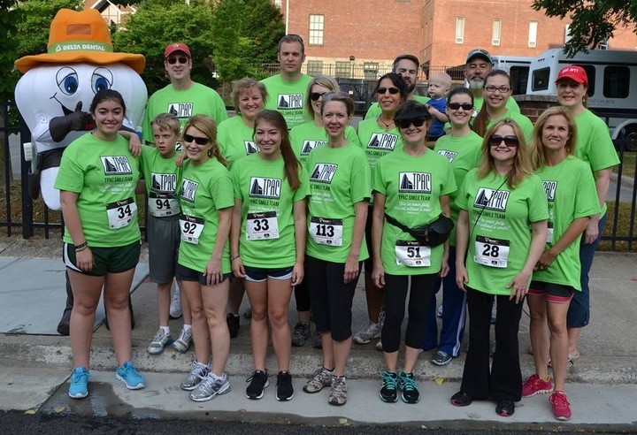 The Tpac Smile Team   Marshall Molar 5k, Nashville T-Shirt Photo