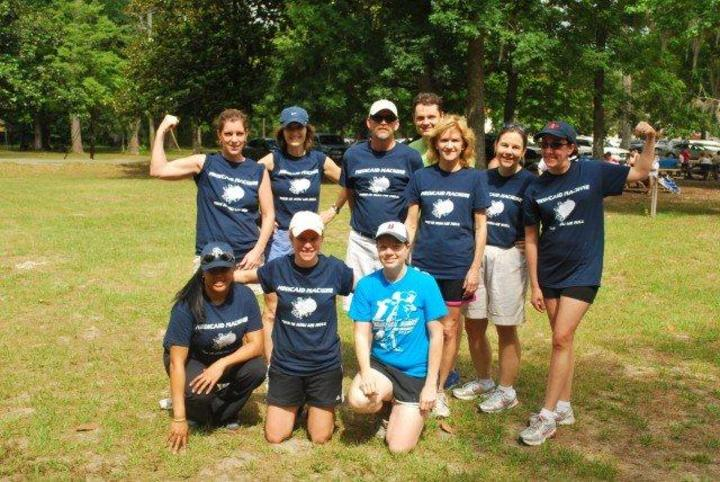 Ahca Medicaid Kickball Team T-Shirt Photo