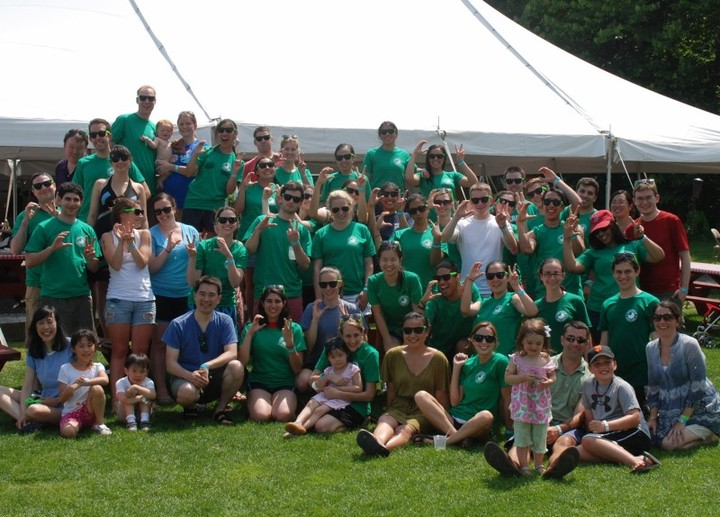 Company Summer Event At Kimball Farm T-Shirt Photo