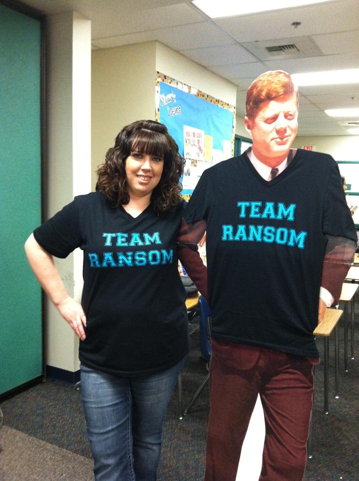 Even Jfk Loves Custom Ink! T-Shirt Photo