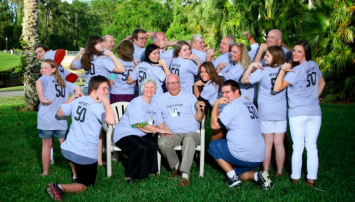 50th Anniversary For Grandma & Pops T-Shirt Photo