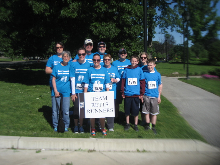 Teal Ribbon 5k T-Shirt Photo