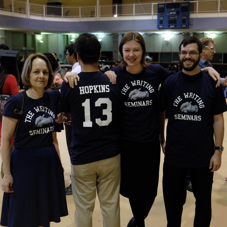 Custom T-Shirts for Johns Hopkins Writing Seminars Mfa Graduation ...