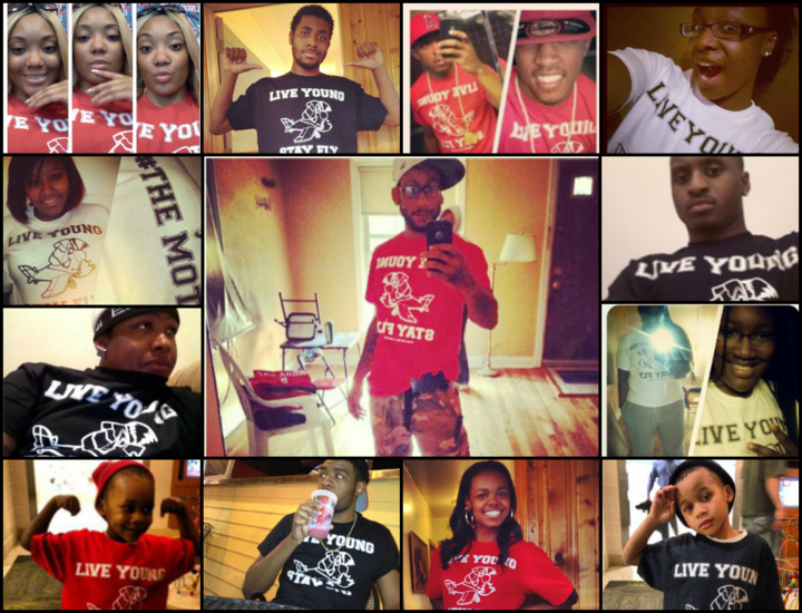 Live Young...Stay Fly T-Shirt Photo
