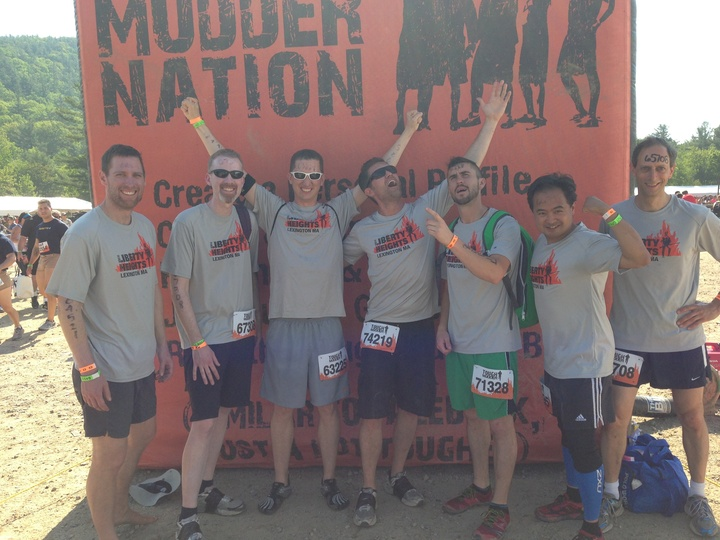 Team Liberty Heights @ Tough Mudder Boston T-Shirt Photo