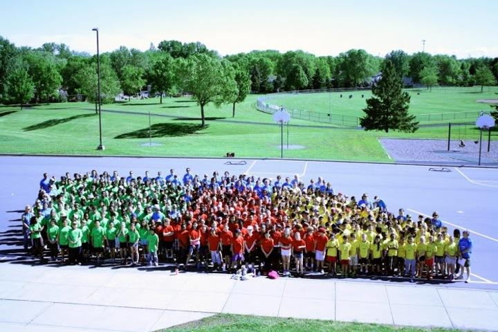 All School Field Day T-Shirt Photo
