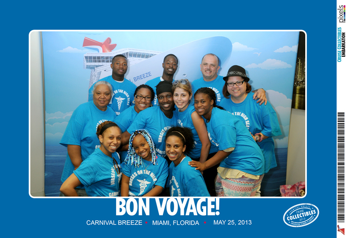 Carnival Cruise Breeze T-Shirt Photo