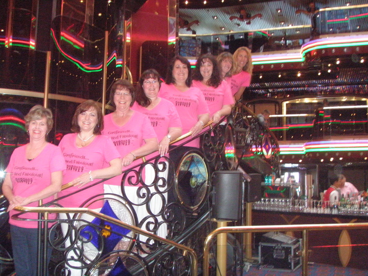 The Pink Ladies, 50 And Fabulous! T-Shirt Photo