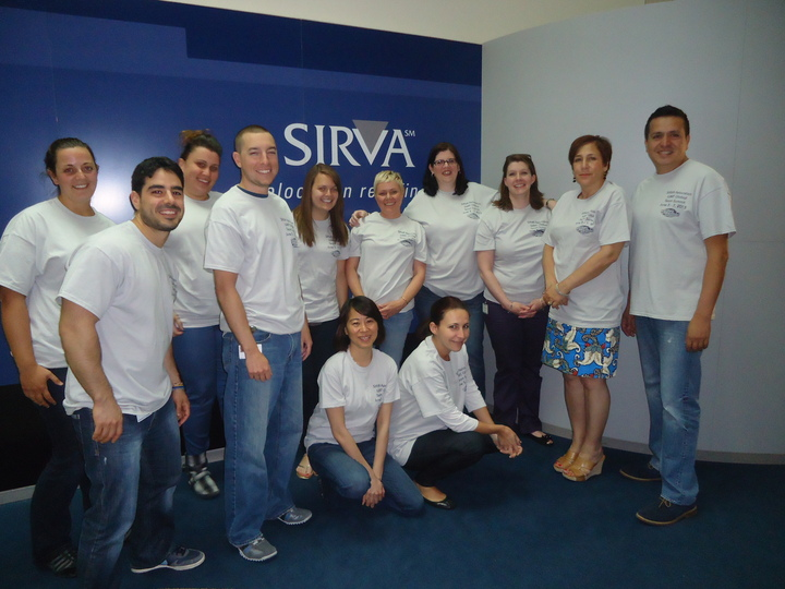 Best Global Relo Team Ever! T-Shirt Photo