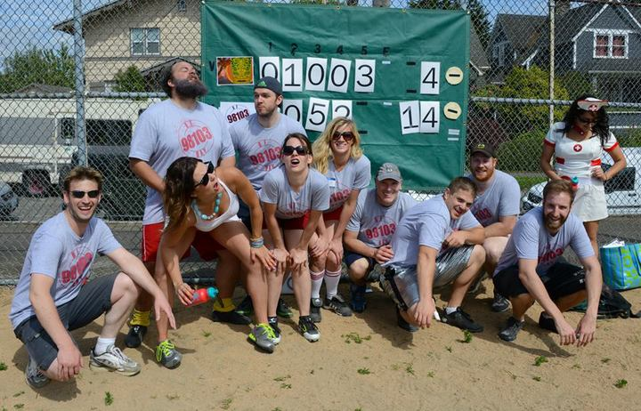 Kickball Win! T-Shirt Photo