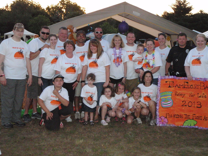 Team Fight Back, Relay For Life, Medford, Nj T-Shirt Photo