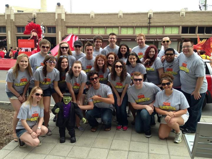 Young Frankenstein At The Circle City In Pride Parade T-Shirt Photo