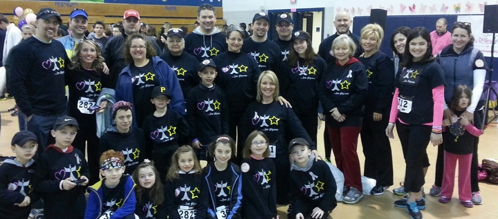 Walking For Pediatric Brain Cancer Awareness T-Shirt Photo