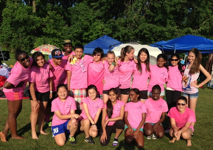 Team Tumornators At The Olney Relay For Life T-Shirt Photo