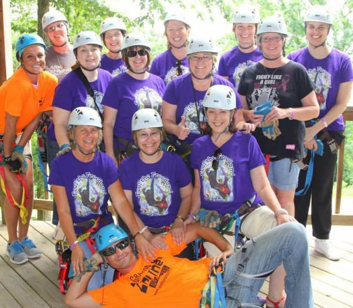 Zip Line 2013 T-Shirt Photo