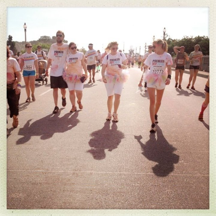Color Run Chicago 2013 T-Shirt Photo