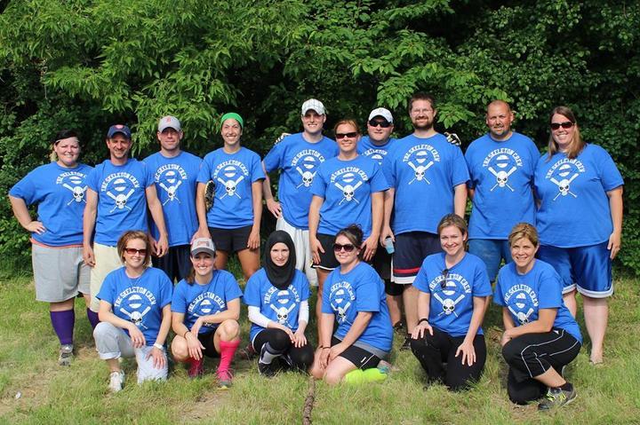 The Skeleton Crew Softball Team 2013 T-Shirt Photo