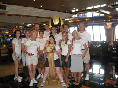 Carnival Glory Camel Riders T-Shirt Photo