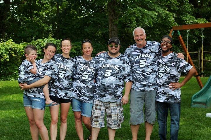 Backyard Wiffleball T-Shirt Photo