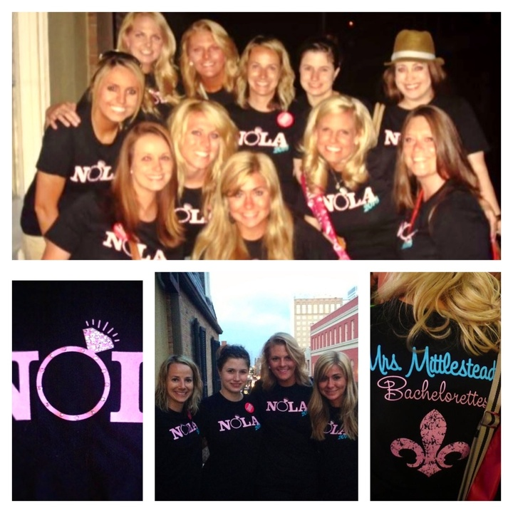 Bachelorettes In Nola T-Shirt Photo
