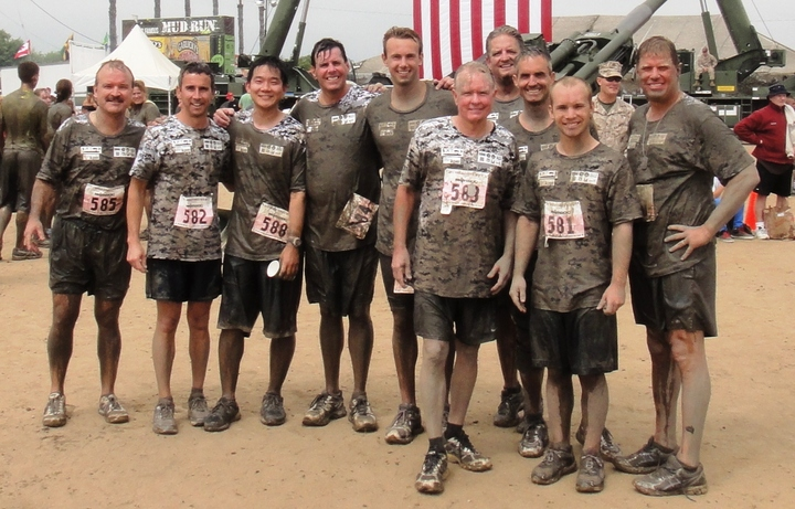 2013 Camp Pendleton Mud Run (After The Race) T-Shirt Photo