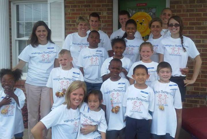 Washington Therapy Center Summer Camp  T-Shirt Photo