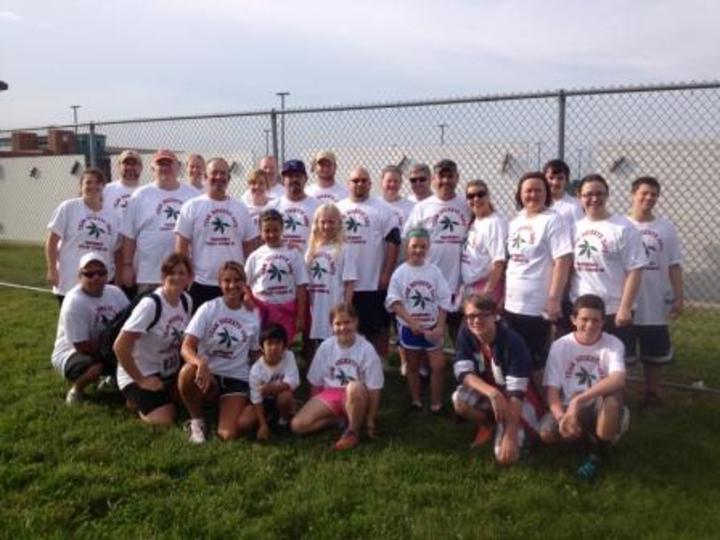 Team Buckeye Dave (Steady Strides For Parkinsons 5 K) T-Shirt Photo