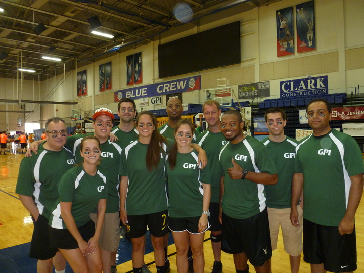Team Gpi Participating In The 2013 Jdrf Games T-Shirt Photo